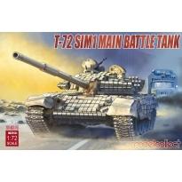 T-72 SIM1 Main Battle Tank (1:72)