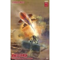German WWII Wasserfall Ferngelenkte Flakrakete 1+1 pack (1:72)