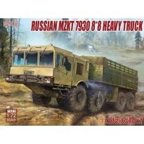 Russian mzkt 7930 8*8 heavy truck (1:72)