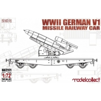 WWII Germany V1 Missile Railway Car (1:72)