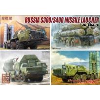 S-300/S400 Missile launcher,N in 1(* S300 5P85S * S300 5p85D * S300 5p85SE * S400 5P85TE2) (1:72)
