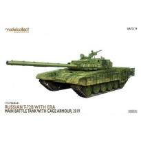Russian T-72B with ERA Main Battle Tank with cage armour, 2019 (1:72)