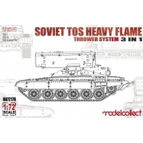 Soviet TOS Heavy Flame Thrower System 3 in 1 (1:72)