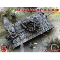 "Fist of War German P.500 ""Gungnir"" (1:72)"