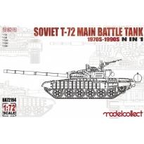 Soviet T-72 Main battle tank, 1970s-1990s N in 1 (1:72)