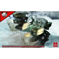 Fist of War German WWII Blf-100A light fighting Mech (1:72)