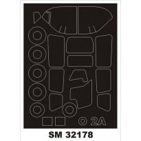 Mini Mask O-2A Skymaster (1:32)
