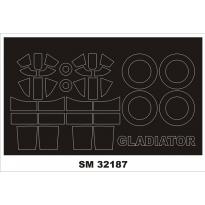 Mini Mask Gladiator Mk I/II (1:32)