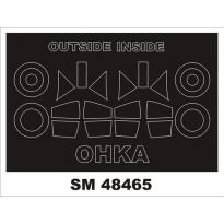 Mini Mask Ohka model 22 (1:48)