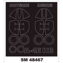 Mini Mask A-4E Skyhawk (1:48)