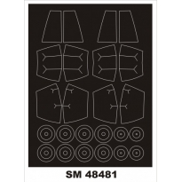 Mini Mask Saab SK-37 Viggen (1:48)