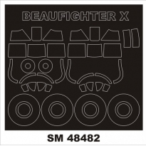 Mini Mask Beaufighter TF.X (1:48)