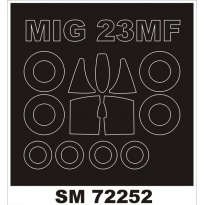 Mini Mask MiG-23MF ( (1:72)