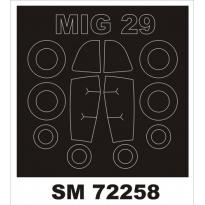 Mini Mask MiG-29A (1:72)