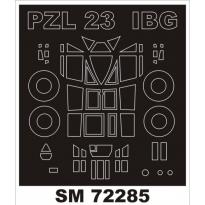 Mini Mask PZL.23 Karaś (1:72)