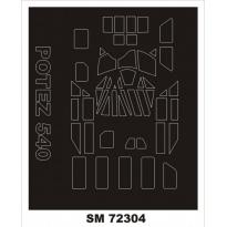 Mini Mask Potez 540T (1:72)