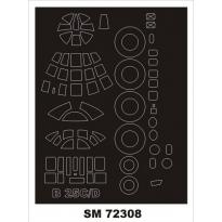 Mini Mask B-25C/D Mitchell (1:72)