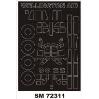 Mini Mask Wellington Mk.I (1:72)