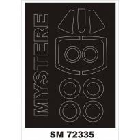 Mini Mask SMB-2 Super Mystere (1:72)