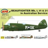 Beaufighter Mk.I, Mk.VI & Mk.21 in Australian Service  - Limited Edition (1:72)