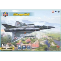Mirage IIIB operational trainer (1:72)