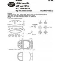 Jet Provost T.4 / Jet Provost T.3/T.3A kabuki masks (1:48)