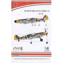 Bf 109 G-10/R2 (5F 12) reconnaissance (1:48)