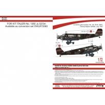 Ju 52/3m nachtbomber Austria (1:72)