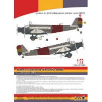 Ju 52 Spanish Republican bomber (1:72)