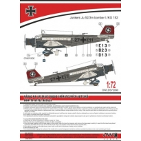 Ju 52 German bomber (1:72)