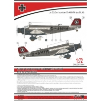 Ju 52 Bomber (civil code) (1:72)