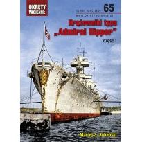 """Krążowniki typu """"Admiral Hipper"""", część I"""