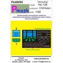 Hs-126 A-1/B-1: Maska (1:48)