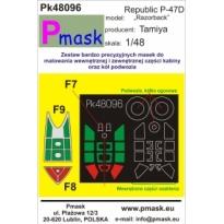 "P-47D Thunderbolt ""Razorback"": Maska (1:48)"