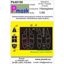 Nakajima Ki-84-I Hayate (Frank): Maska (1:48)