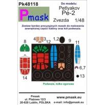 Petlyakov Pe-2: Maska (1:48)