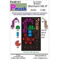 Bristol Blenheim Mk.IF: Maska (1:48)