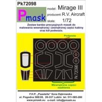 Mirage III: Maska (1:72)