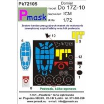Do-17Z -10: Maska (1:72)