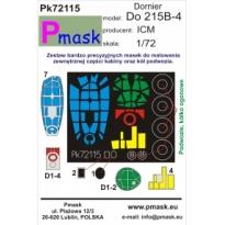 Dornier Do 215B-4: Maska (1:72)