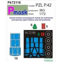 PZL P.42: Maska (1:72)