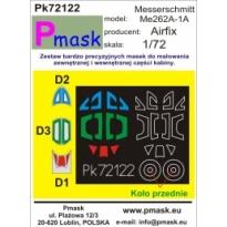 Messerschmitt Me262A-1A: Maska (1:72)
