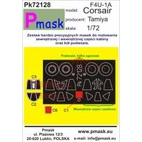 F4U-1A Corsair: Maska (1:72)