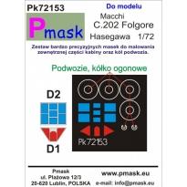 Macchi C.202 Folgore: Maska (1:72)