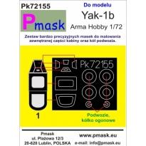 Yak-1b: Maska (1:72)