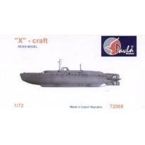 X – Craft submarine (1:72)