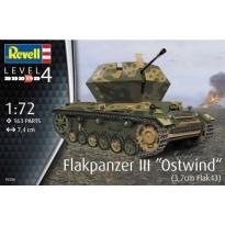 "Flakpanzer III""Ostwind"" (3,7 cm Flak 43) (1:72)"