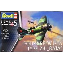 "Polikarpov I-16 type 24 ""Rata"" (1:32)"