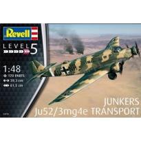 Junkers Ju52/3mg4e transport (1:48)