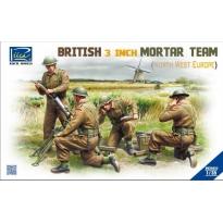 British 3 inch Mortar Team set (North West Europe) (1:35)